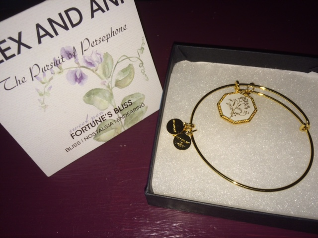 Alex and Ani Sweet Pea bracelet