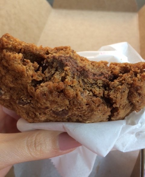 Chocolate Chip Cookie sandwich at Sweet Freedom Bakery