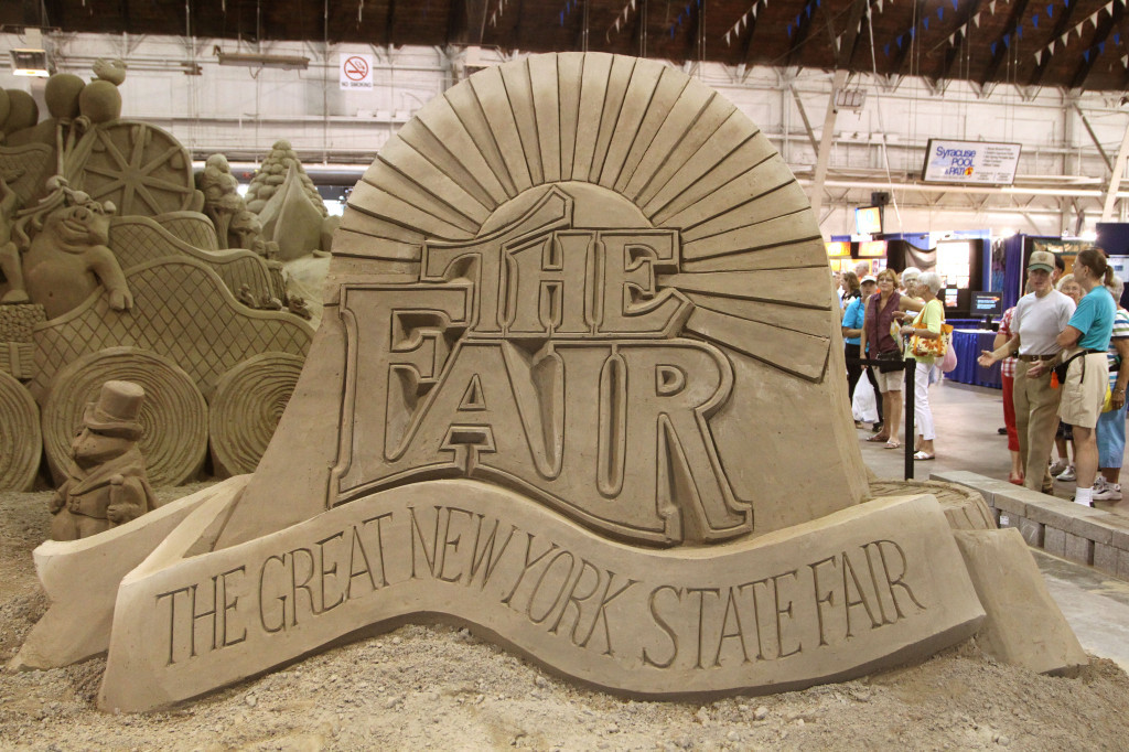 NY State Fair Sand Sculpture