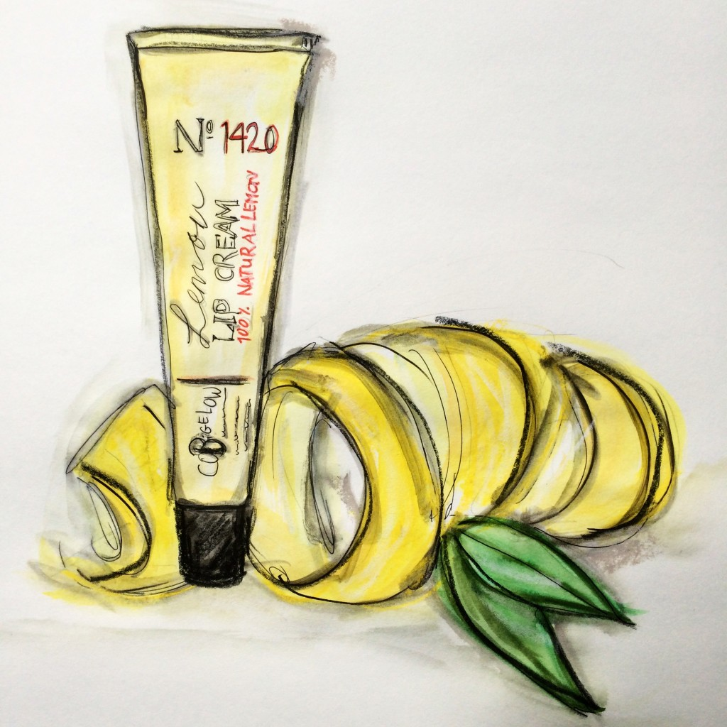 Lemon Lip Cream
